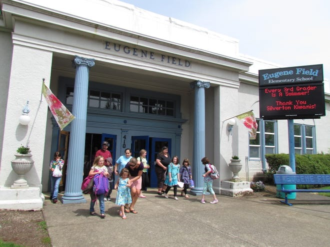The Eugene Field School closed August 2016. Asbestos is to be removed from the building in September.