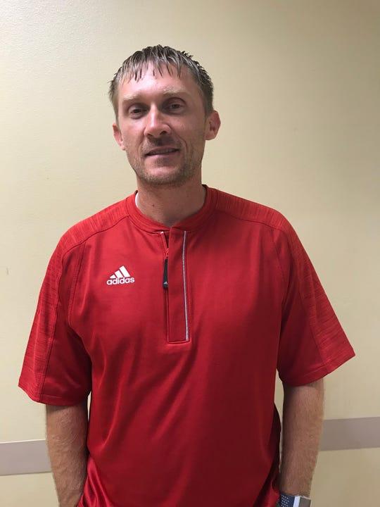 Haughton coach Jason Brotherton