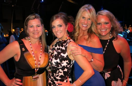 Revelers at Krewe Gemini Royalty Coronation included: Kelly Wise, Terry Wooten, Susan Rodlow, Mona Vienne.