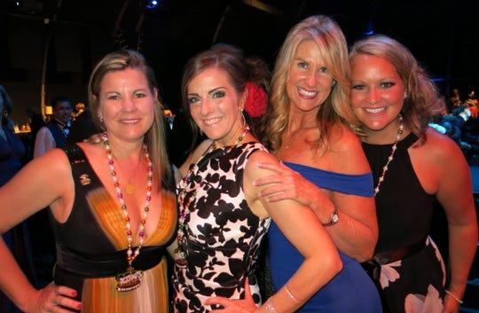 Revelers at Krewe Gemini Royalty Coronation included: Kelly Wise, Terry Wooten, Susan Rodlow, Mona Vienne.