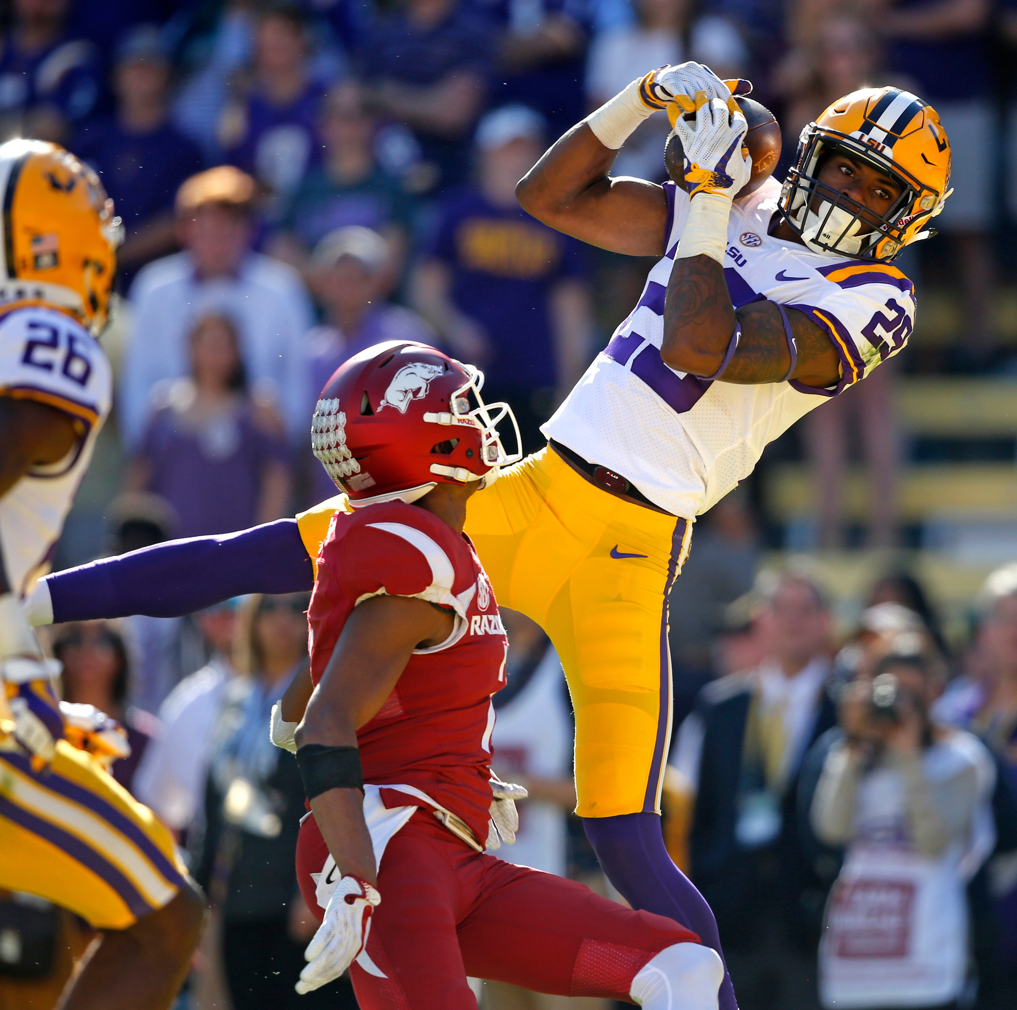 Ready for primetime: Greedy Williams takes aim at Deion Sanders