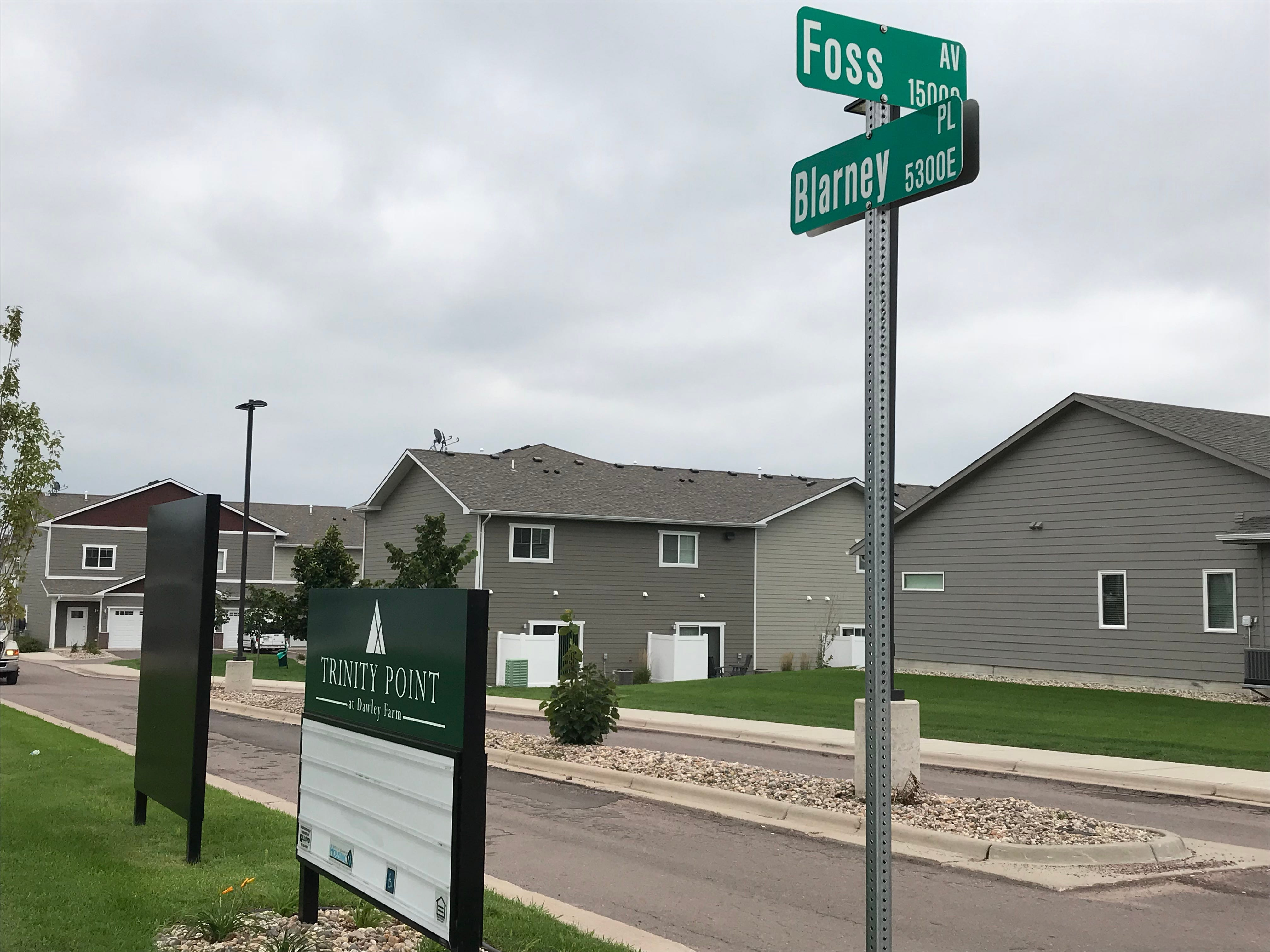 If you see a lot of Irish names of developments and street signs, you're not full of blarney. It's a signature of developer Lloyd Companies, honoring its founders' Irish roots, but other developers get into the Irish moniker game too.