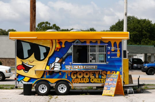 Gooey's Grilled Cheese recently opened in the SGF Mobile Food Park and has seven grilled-cheese sandwiches on the menu.