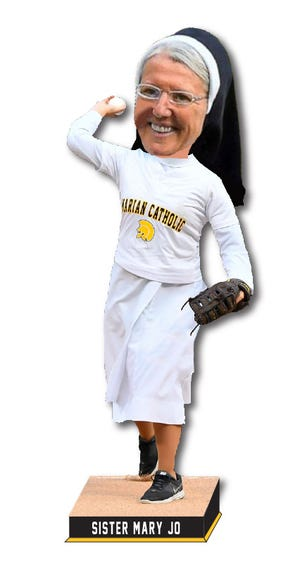 The National Bobblehead Hall of Fame and Museum will make this statue in honor of Sister Mary Jo Sobieck.