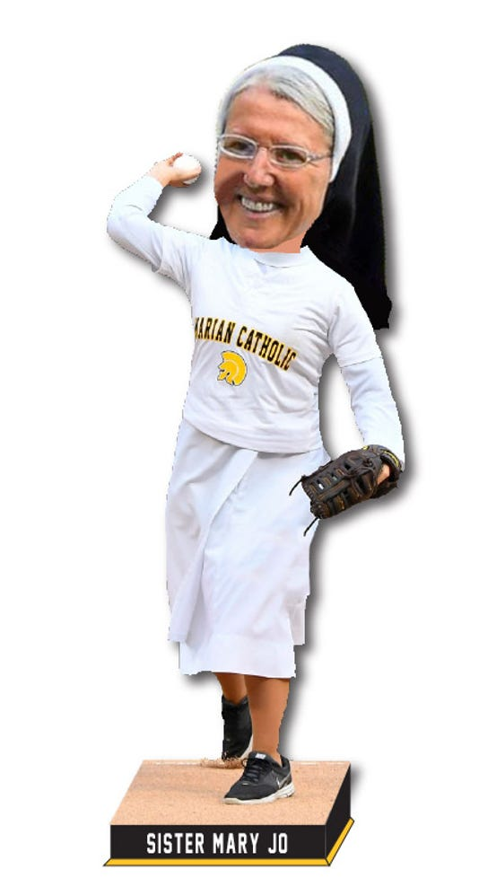 Sister Mary Jo High Res Bobblehead