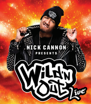 "The poster for ""Nick Cannon Presents Wild 'N Out Live."""