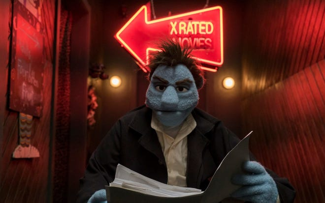 """Do not bring the kids along for the coarse comedy """"The Happytime Murders,"""" which opens Friday."""
