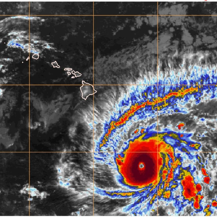 Hurricane Lane now packing 150-mph winds and expected to turn toward Hawaii