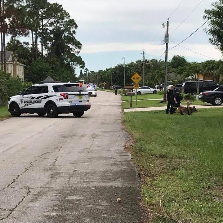 Police: 5 in custody after two-county chase ends in Port St. Lucie