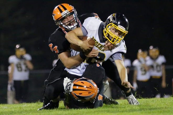 Iola-Scandinavia, coming off a shutout win last Friday, is ranked fifth in the Small Division in the first Associated Press state high school football poll of the season.