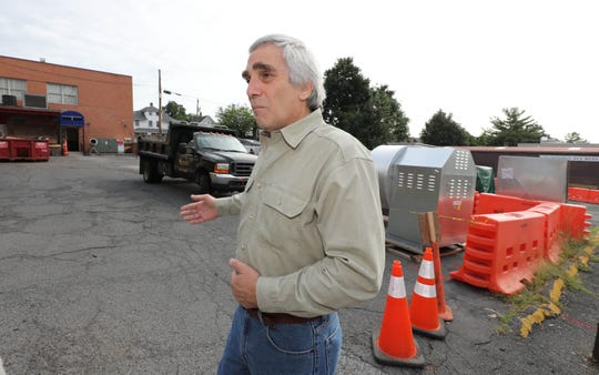 David Kimmel, the interim director for the Rockland Community College Hospitality & Culinary Arts Center in Nyack, stands in a parking lot near the school on Main Street in Nyack, Aug. 21, 2018.