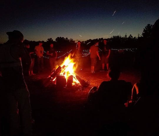 Last year's Weedstock offered music, camping and a nighttime bonfire.