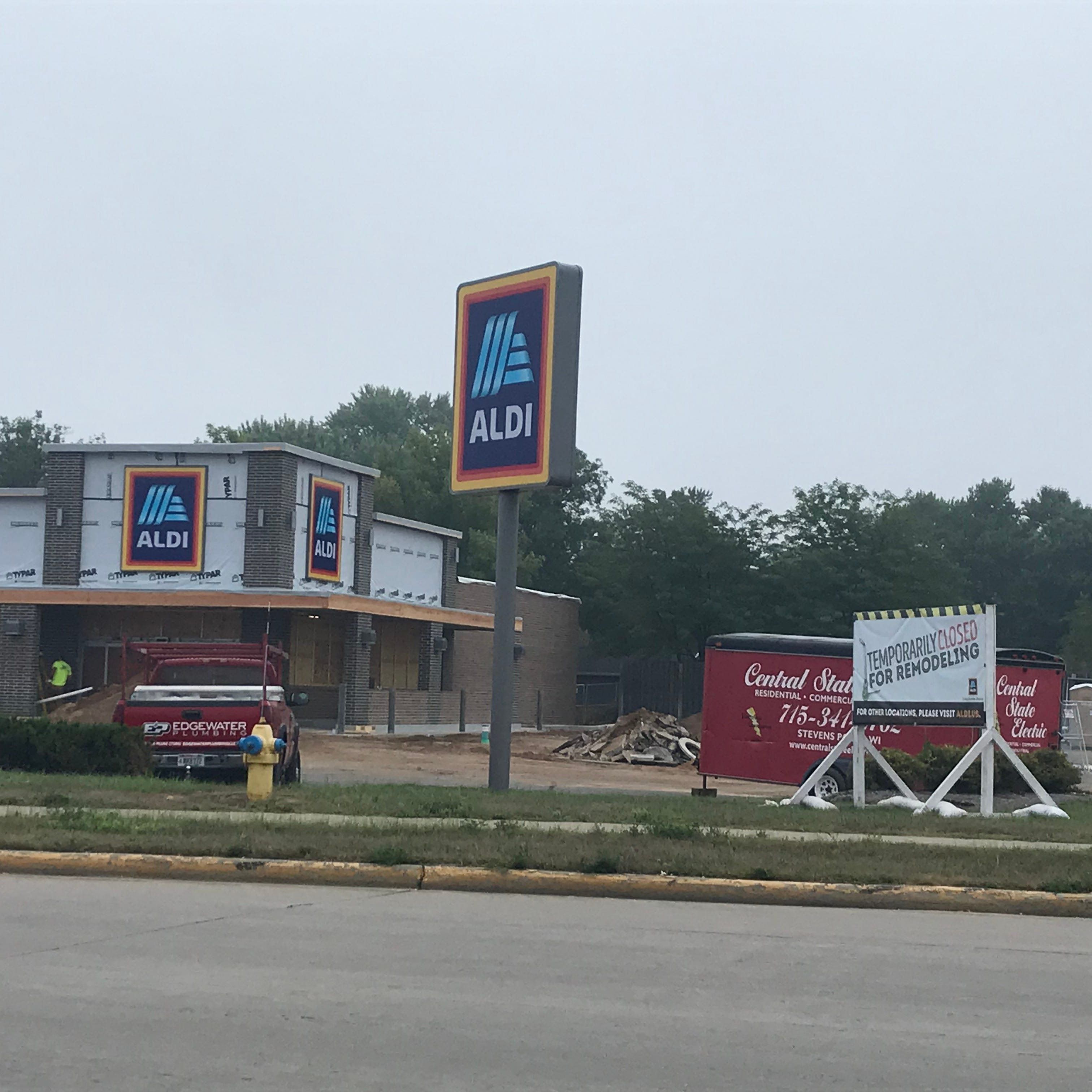 Aldi temporarily closed for remodeling in Wisconsin Rapids