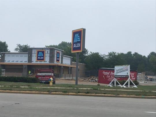 Aldi is temporarily closed in Wisconsin Rapids.