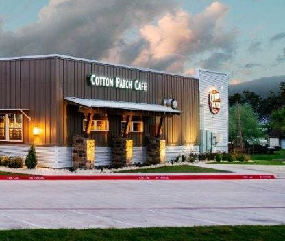 The Cotton Patch Cafe in Wichita Falls unveiling remodeling Wednesday, including refreshed landscaping, redesigned entry and a revamped bar area.