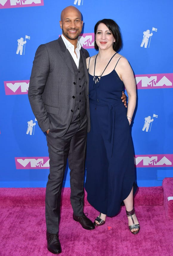 Keegan-Michael Key and his wife actress Elisa Key