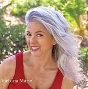 "Victoria Marie created a documentary titled ""Gray is the New Blonde,"" which explores views and attitudes toward women with gray hair."
