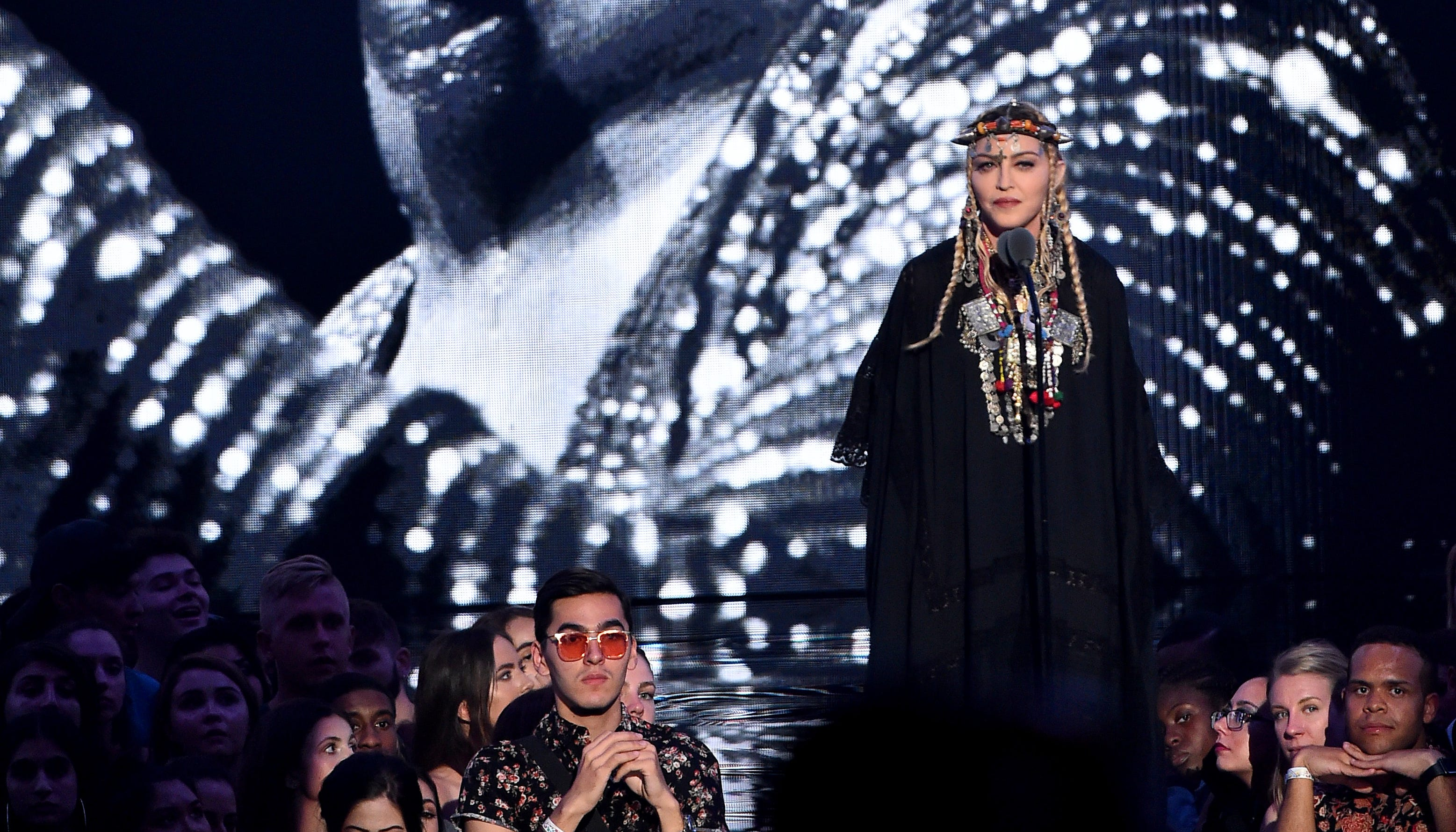 MTV VMAs: Madonna pays tribute to Queen of Soul Aretha Franklin PHOTOS WINNERS