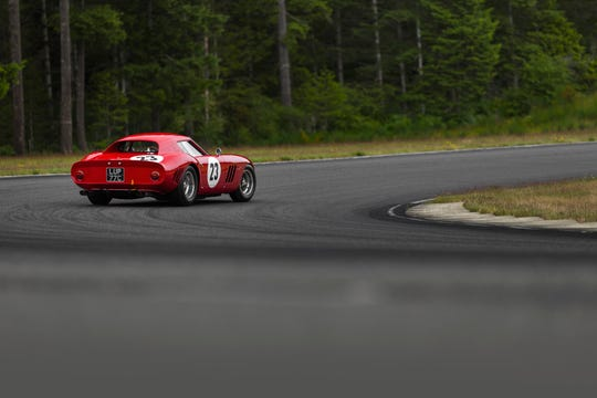 The Ferrari GTO may be worth tens of millions of dollars, but it is happiest on a track - and most of its wealthy owners indeed drive these cars at vintage racing events around the world.