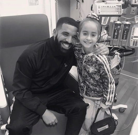 Ap Drake Hospitalized Girl A Ent Usa Il