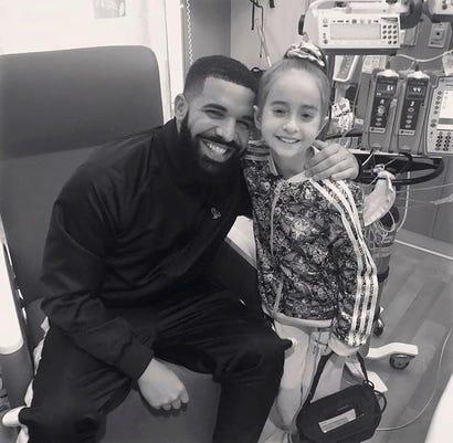 Ap Drake Hospitalized Girl A Ent Usa Il