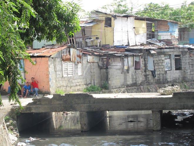 A scene from Puerto Plata, Dominican Republic.