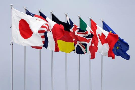 Epa Japan G7 Summit Preview Pol Treaties Organizations Jpn Ai