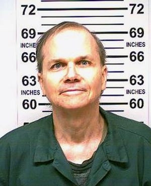 Mark David Chapman in a recently released photograph taken on Jan. 31, 2018.
