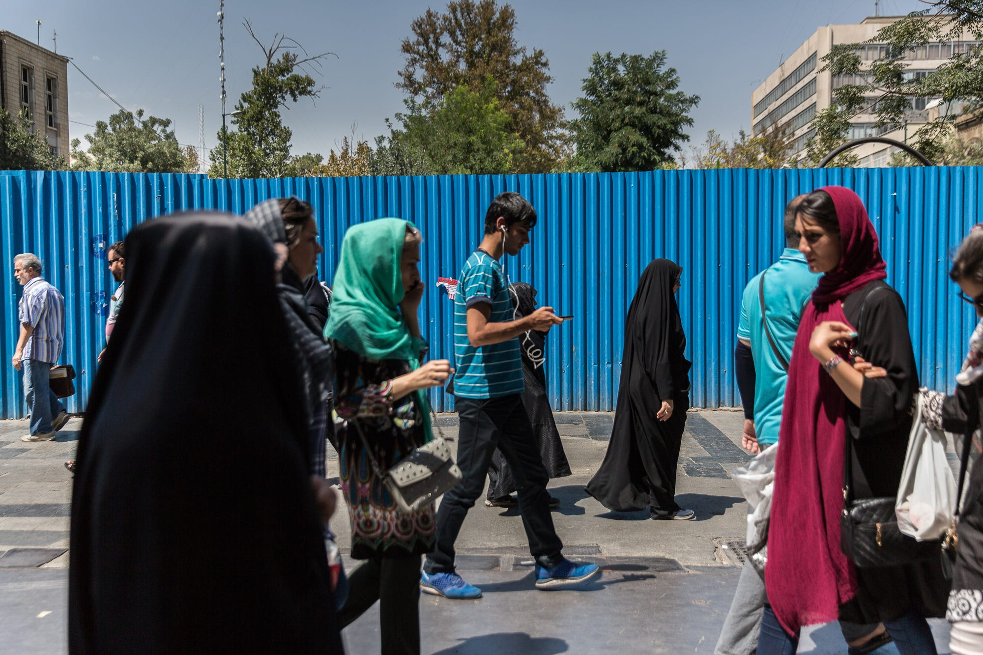 Under Iranian law, a driver in any road accident involving a pedestrian is always held responsibleand could be required to pay blood money to the victim's family.
