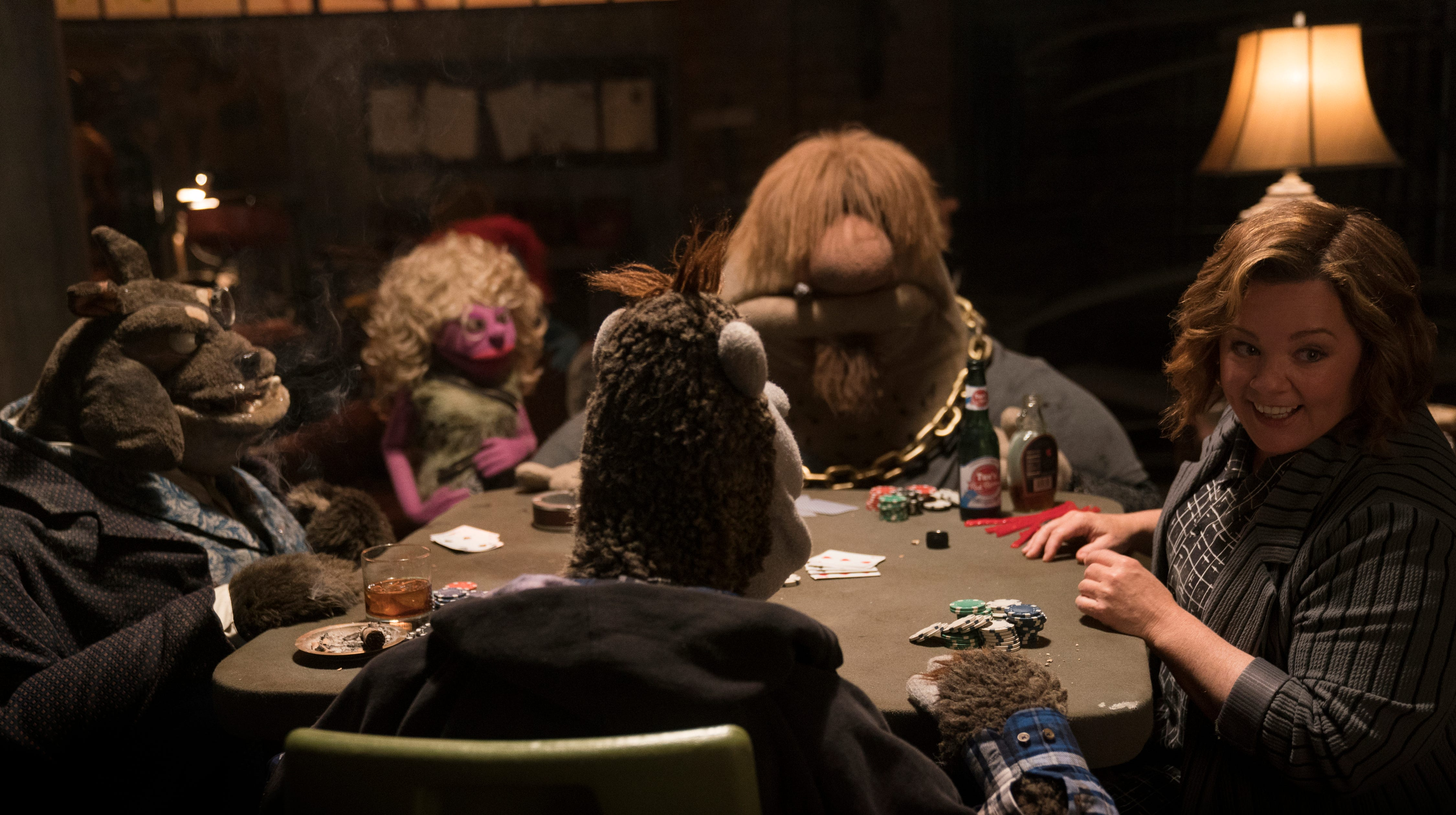 """Melissa McCarthy gets ready to party in """"The Happytime Murders."""""""