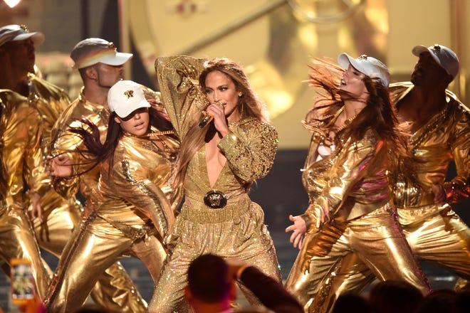 Jennifer Lopez crushed it Monday night at the VMAs.