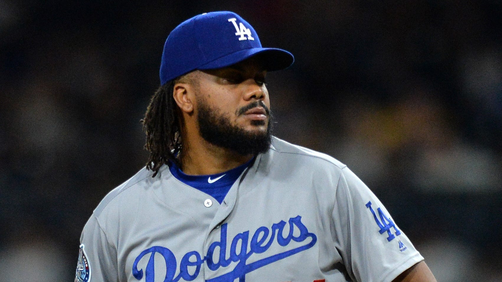 Dodgers closer Kenley Jansen has not pitched since Aug. 7.