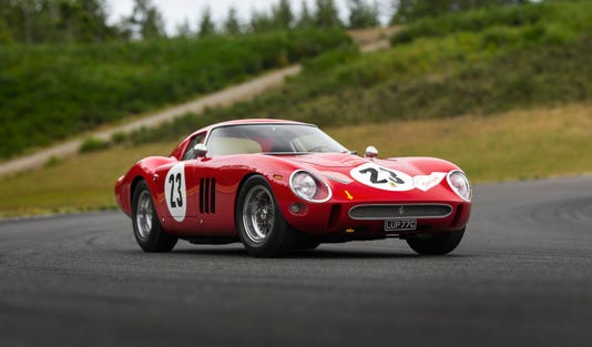 Monterey Car Show Ferrari GTO Could Sell For Million - Ferrari car show