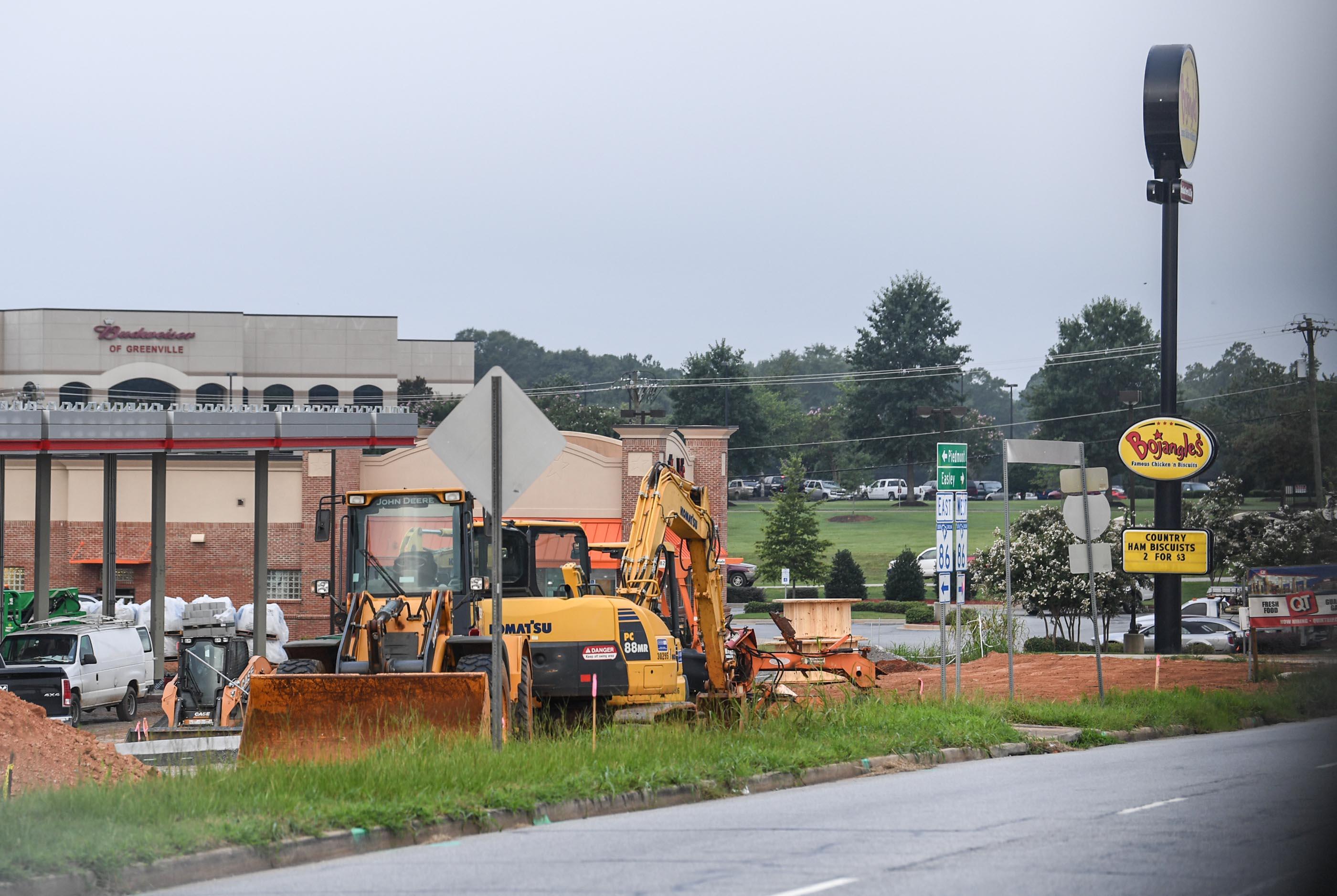 Quiktrip Under Construction In Anderson County Near I 85