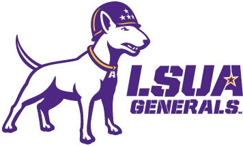 LSUA's new logo