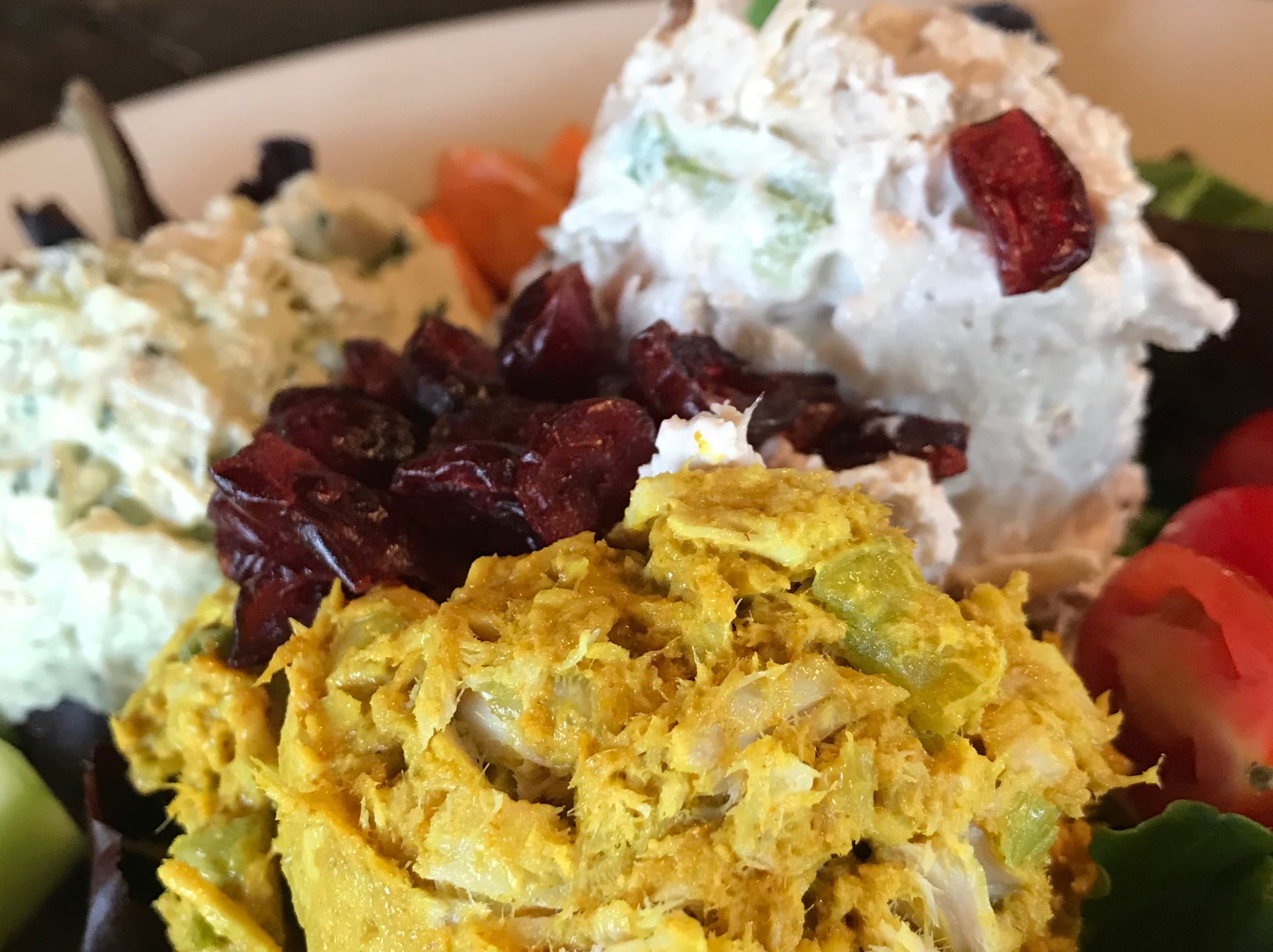 Curried chicken salad has been on Zuppas menu since it opened in 1999 and remains one of the most popular items. It starts with roasted curry spices and gets a touch of hone to round out the flavors.