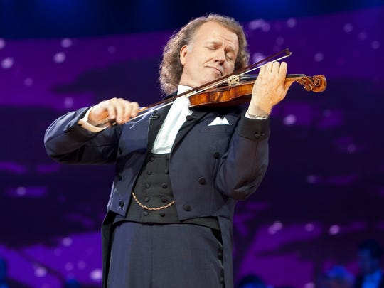 Andre Rieu in concert.