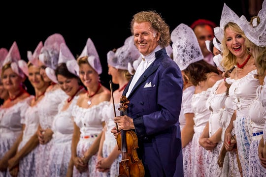Andre Rieu, at Vrijthof, in Maastricht, Netherlands.