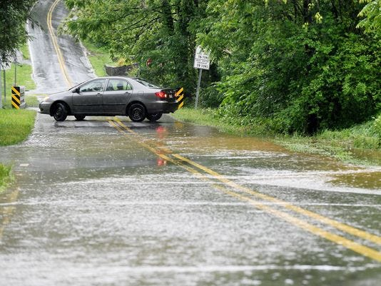 The Asheville area already has recorded the fourth-wettest year on record, with 51.31 inches of rain through Tuesday.