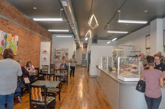The front half of Outside the Box is a wellness cafe, where customers can get plenty of food with gluten free, dairy free and vegan options.