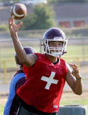 Hezekiah Moore, who has never played quarterback before at any level, will start under center this fall for South Kitsap.