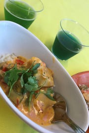 Igor Cavalaro, who writes for the Brazilian publication Coisas de Orlando, vouched for the authenticity of the Moqueca, a spicy seafood stew from his country.