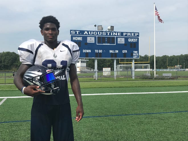 St. Augustine's Jaylen DeCoteau has thrived since moving into the defensive backfield.