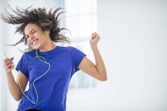 If you lose interest in traditional workouts, try dancing to your favorite music.