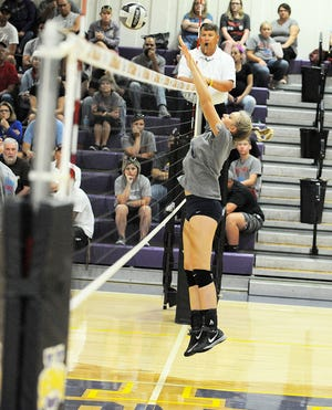 Unioto High School's volleyball team defeated Logan Elm in three sets Tuesday Aug. 21 at Unioto High School.