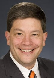 Bruce Johnson, president of the Inter-University Council of Ohio