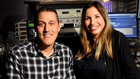 Jim Day and Amanda Orlando launched the new WARM Morning Show with Jim and Amanda Aug. 20.