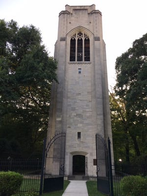 Seven people have filed to fill two vacant seats on the village council of Mariemont, which is home to the Bell Tower in Dogwood Park.