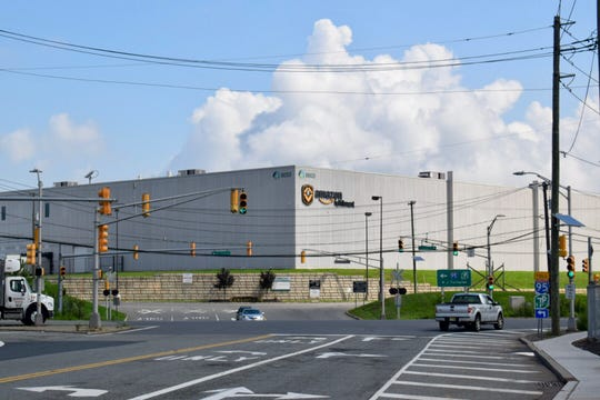The Amazon facility on Industrial Highway in Carteret.