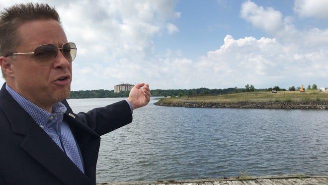 Mayor Dan Reiman is running for another term as mayor of Carteret